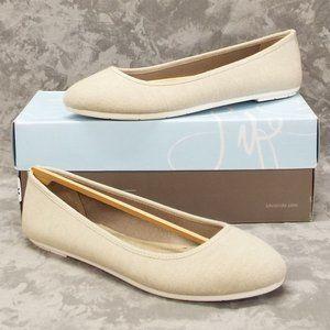 LifeStride Women's Dorian Ballet Flat -9M Natural